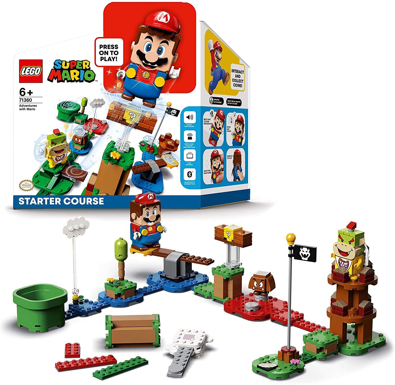 Please watch blast session  LEGO Super Mario Starter Pack Costruibile per il Percorso di base Avventure  con Super Mario, Giocattolo e Idea Regalo per Bambini (231 pezzi), per una  Esperienza di Gioco Interessante, Modello 71360 di
