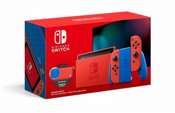 Nintendo Switch Edizione Speciale Super Mario Rossa/Blu