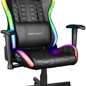 Trust Gaming Sedia da Gaming illuminata LED RGB GXT 716 Rizza
