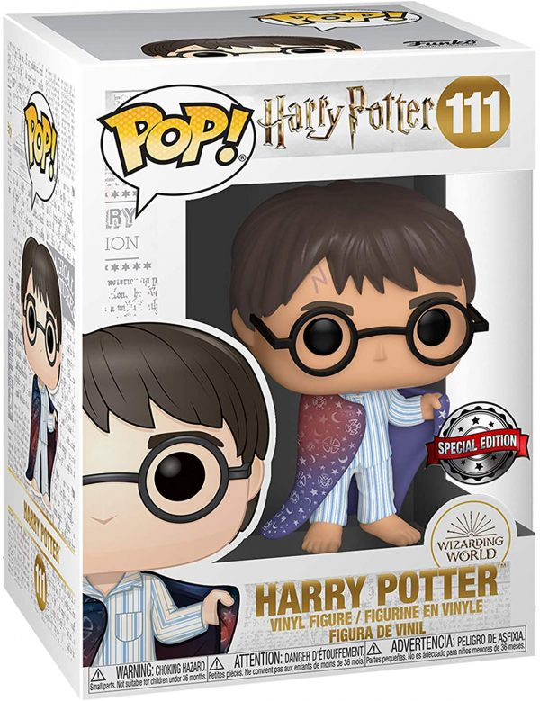 Harry con Il Mantello dell'invisibilità