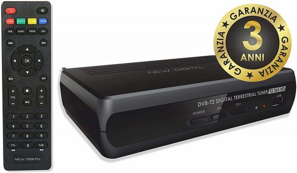 Decoder DVB-T2 265 HD