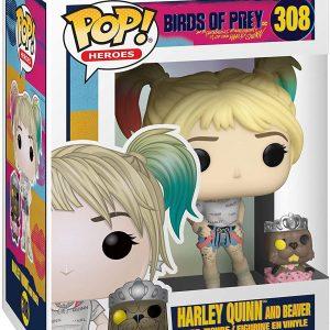 Harley Quinn And Beaver