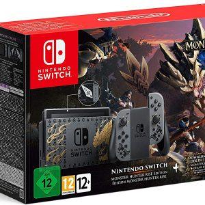 Nintendo Switch Edizione Speciale Monster Hunter Rise